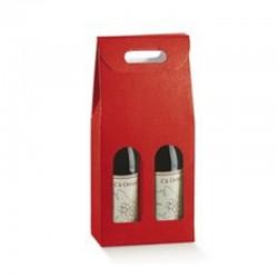 Cutie cadou vinuri 2 sticle Seta Rosso